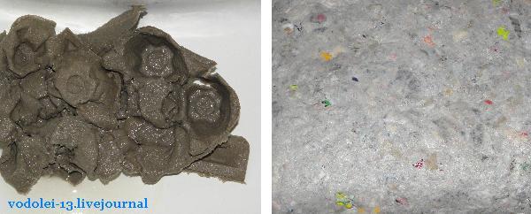 поделки из яичных упаковок пластиковых
