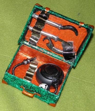 машина из сумки- чемоданчик