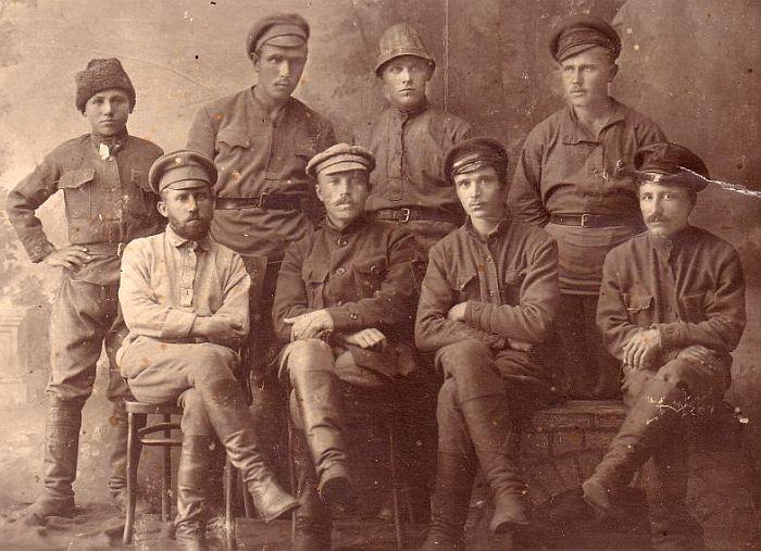 Бойцы 79-ой Бригады 27-ой Дивизии РККА