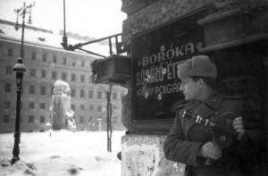 По местам военных снимков, Будапешт 1945