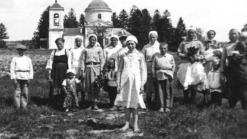 По местам военных снимков, Смоленская область