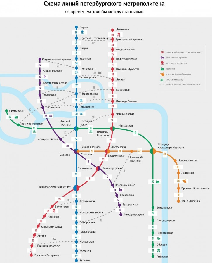 Планируемая схема метро спб
