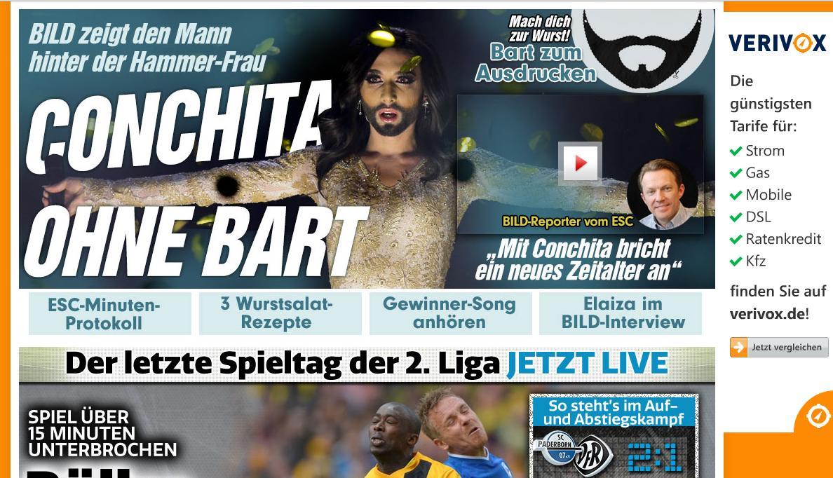 немецкий таблоид
