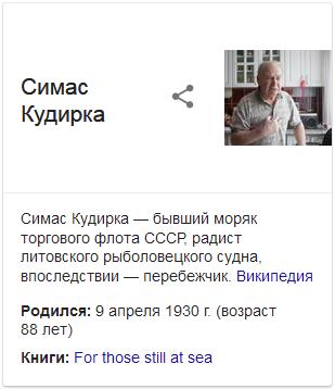 Симас Кудирка-Google