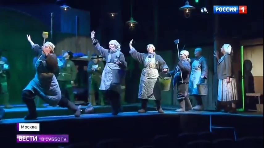 03-Вести в субботу- побывали на премьере очень необычной оперы - Россия 24