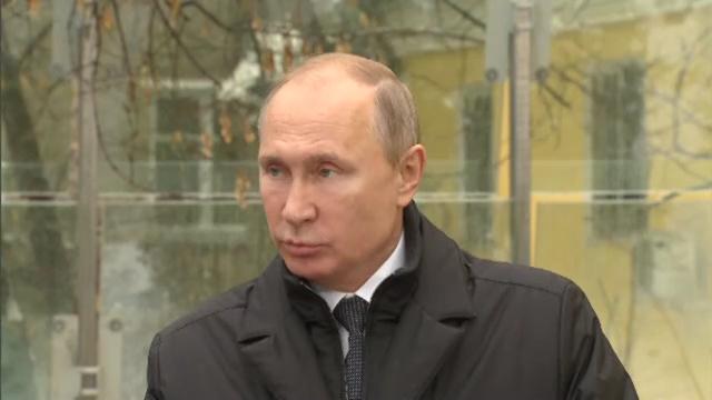 12-В Москве открыт памятник Александру Солженицыну - Президент России