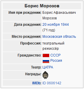 Википедия-Борис Морозов