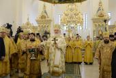 20160306_17-07-Патриарх Кирилл совершил освящение храма св. Александра Невского при МГИМО