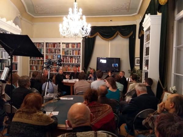 20181226-Вчера в Петербурге проходила замечательная историческая беседа, посвященная Александру Исаевичу