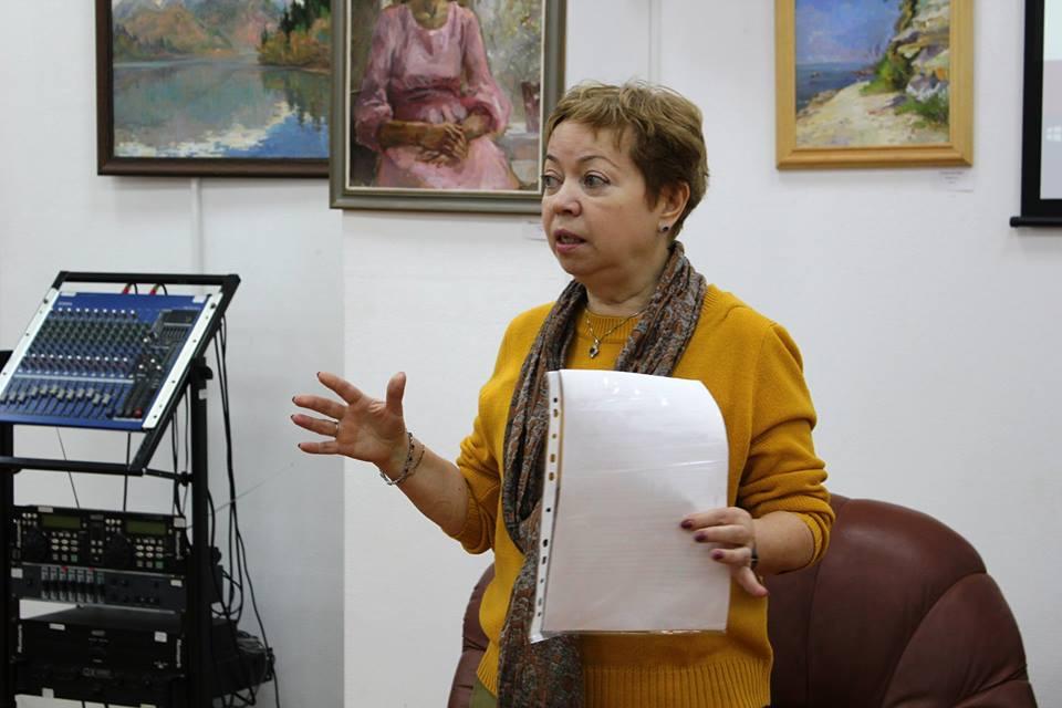 Наталья Ячеистова в Библиотека 119 ЦБС ЮВАО