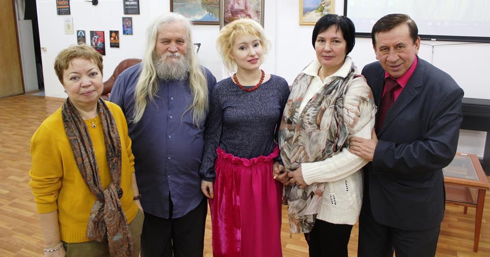Иван Кулебякин, Юлия Арешева, Жаннет Варнавская и Вася Пупкин в Библиотека 119 ЦБС ЮВАО