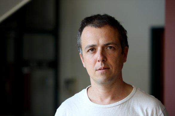 Historik Adam Hradilek. Foto: Ludvík Hradilek, Deník N.