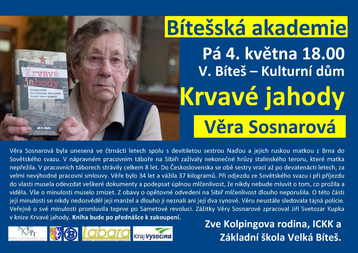20180504-Bitesska akademie - Krvave jahody, Vera Sosnarova