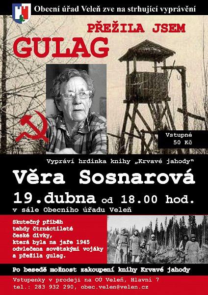 20180419- Prezila jsem GULAG - Vera Sosnarova