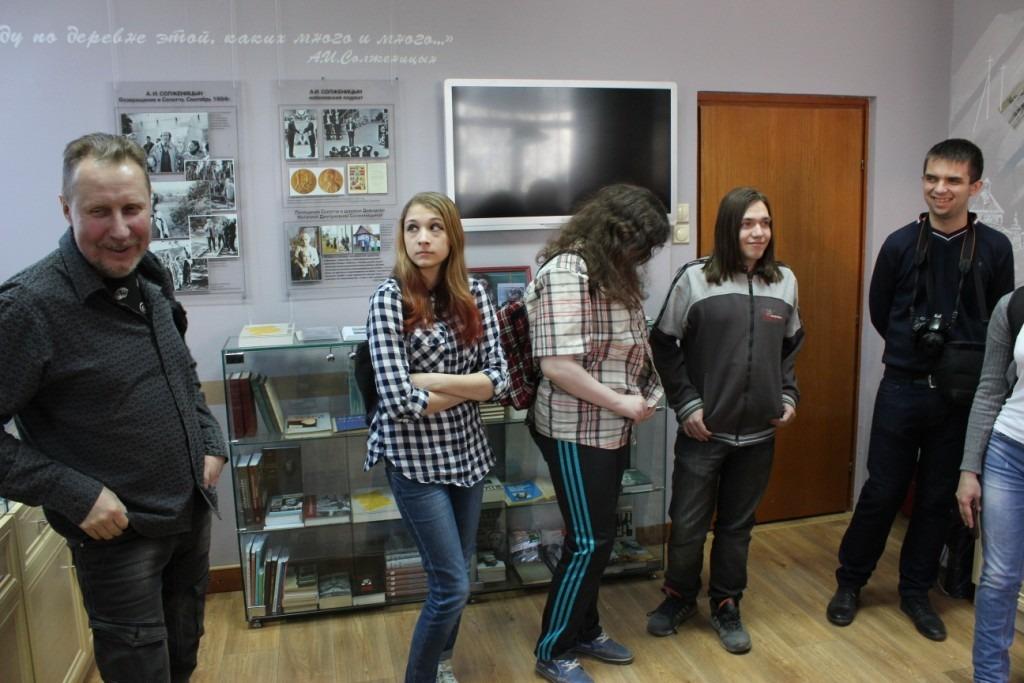 20180415-Разлив в Солотче. Рязанские студенты приняли участие в конкурсе, посвящённом Солженицыну-pic11