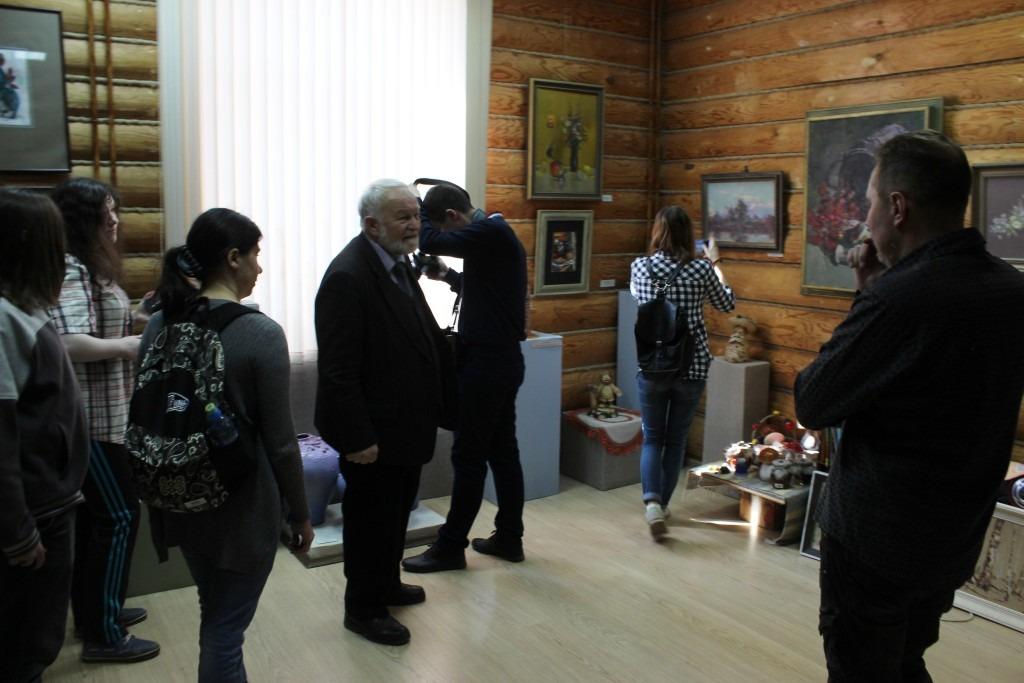 20180415-Разлив в Солотче. Рязанские студенты приняли участие в конкурсе, посвящённом Солженицыну-pic170