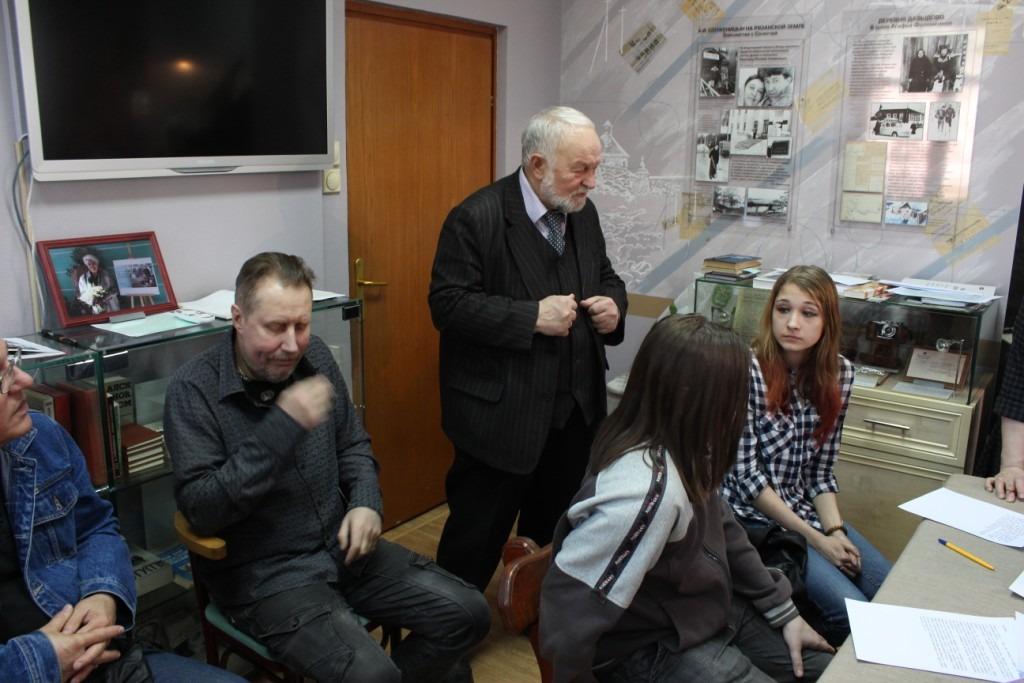 20180415-Разлив в Солотче. Рязанские студенты приняли участие в конкурсе, посвящённом Солженицыну-pic64