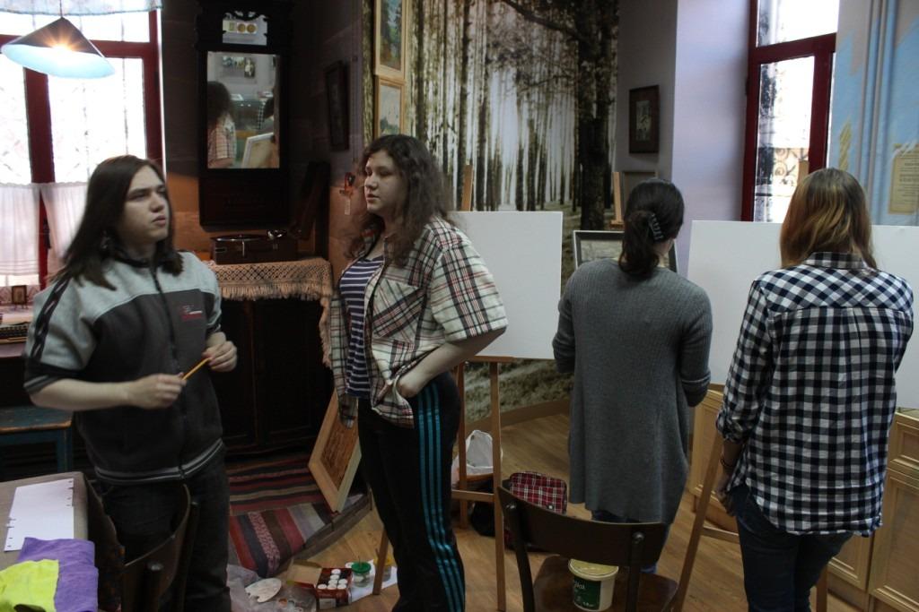 20180415-Разлив в Солотче. Рязанские студенты приняли участие в конкурсе, посвящённом Солженицыну-pic67