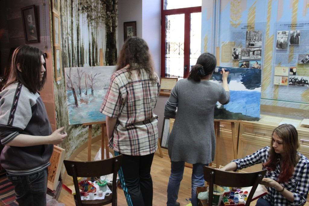 20180415-Разлив в Солотче. Рязанские студенты приняли участие в конкурсе, посвящённом Солженицыну-pic72