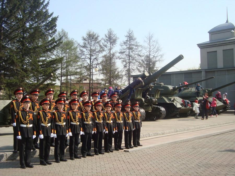 Музейные будни накануне Дня Победы. Май 2014 год-pic2