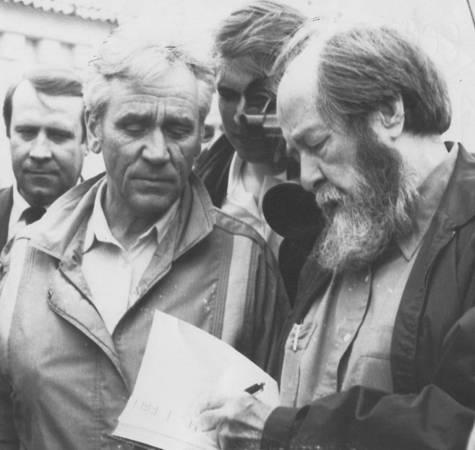 А.И. Солженицын в Братске