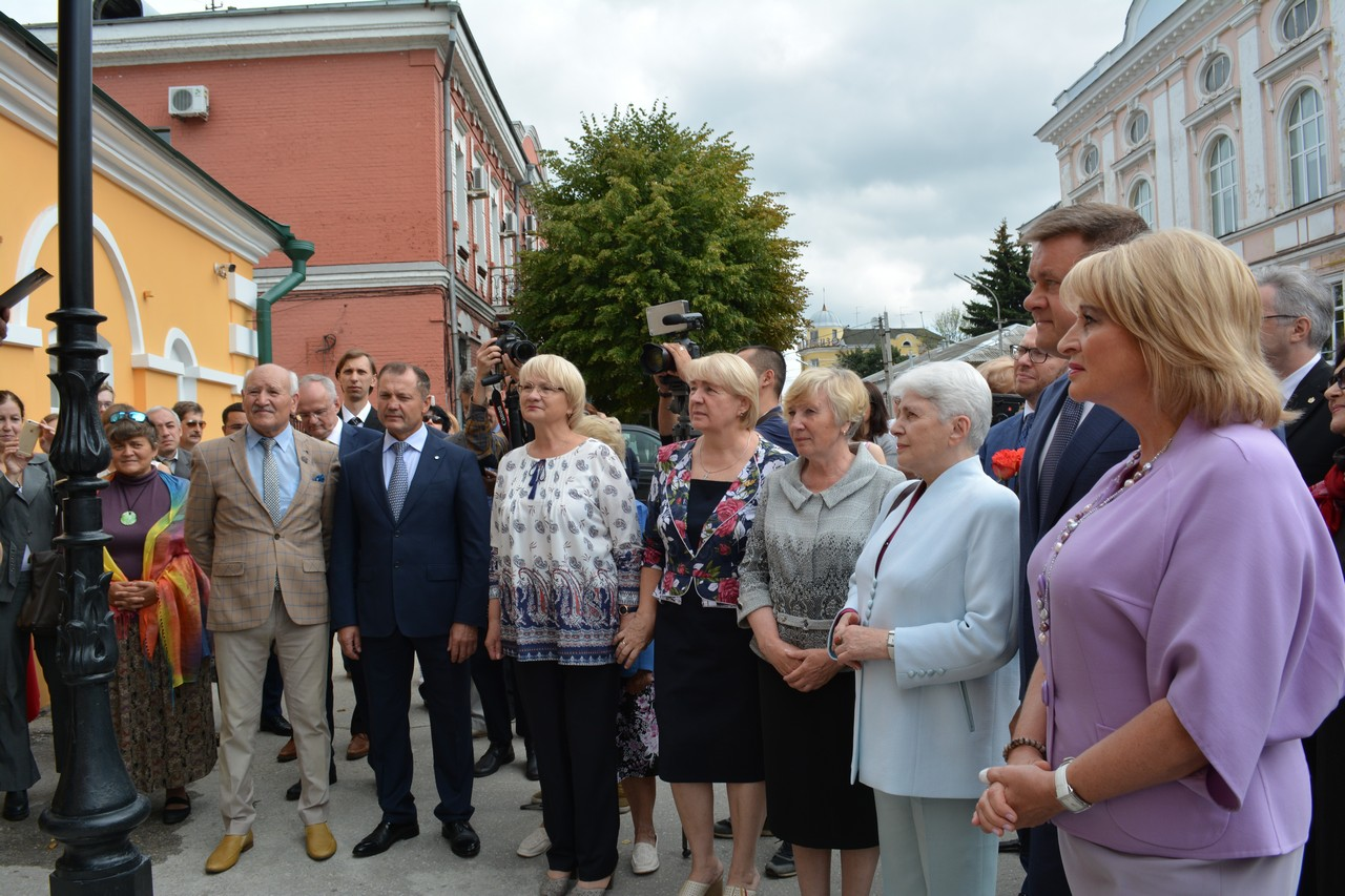 20190814-Музейный центр имени Александра Солженицына открыли в Рязани
