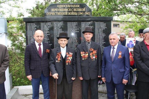 20170510-Открытие памятника воинам, вернувшимся с Великой Отечественной Войны в с.п. Урух-pic5