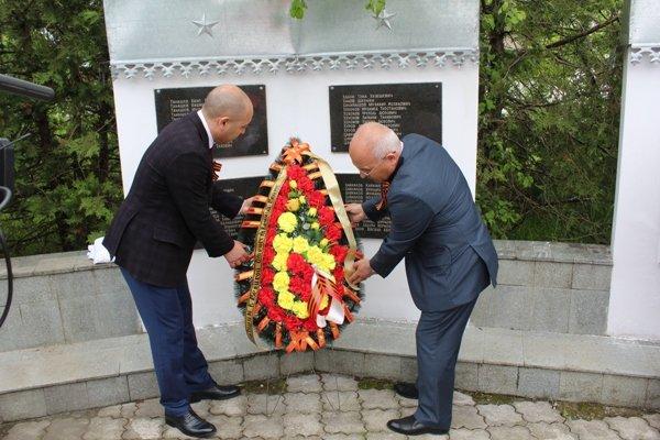 20170510-Открытие памятника воинам, вернувшимся с Великой Отечественной Войны в с.п. Урух-pic6