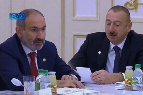 20191011_11-27-Никол Пашинян обвинил Ильхама Алиева в попытке искажения истории и неуважении к президентам и народам стран СНГ-pic1