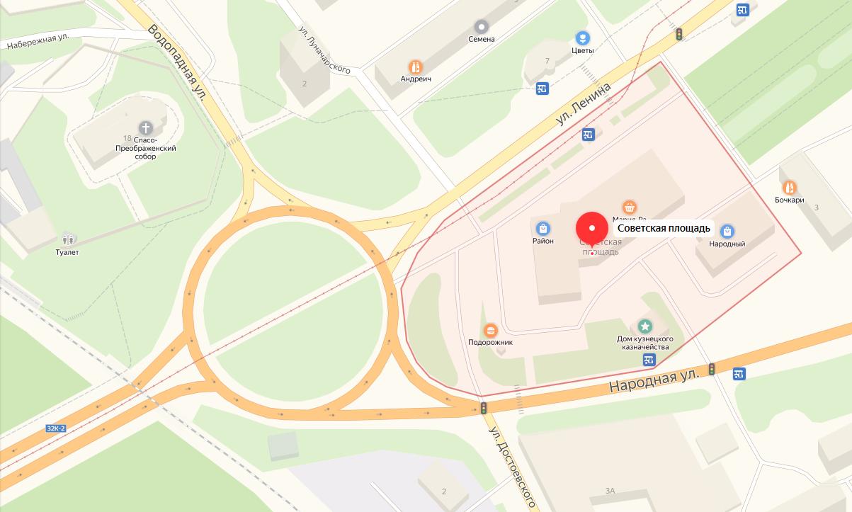 Новокузнецк-Советская площадь