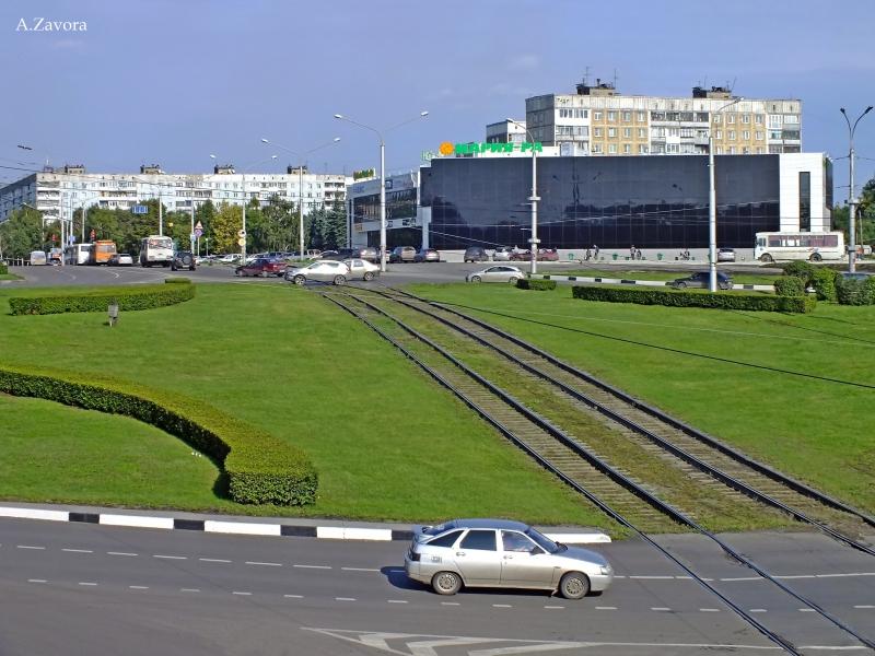 Новокузнецк - ТЦ Район. Советская площадь. Фото - А. Завора-pic1