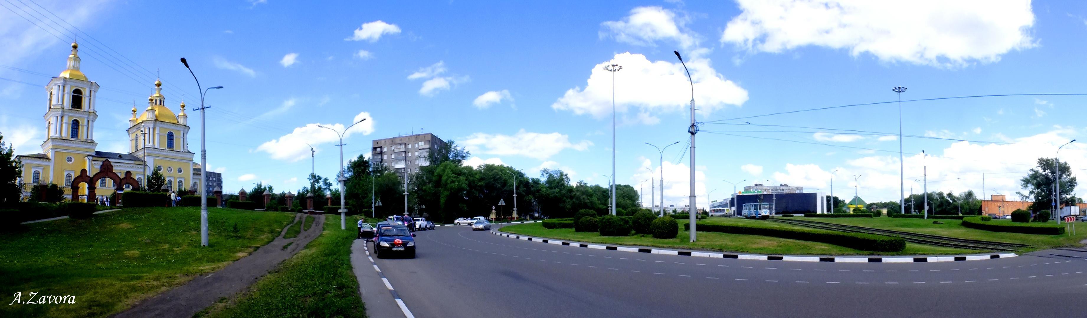 Алексей. Советская площадь. Панорама