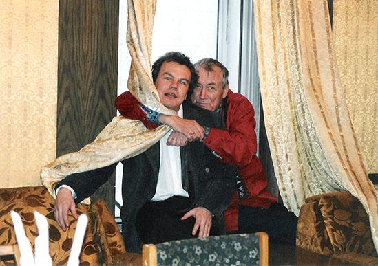 «Удушающая дружба»: Евгений Евтушенко и Юрий Беликов в пермском драмтеатре. Вторая половина 1990-х.