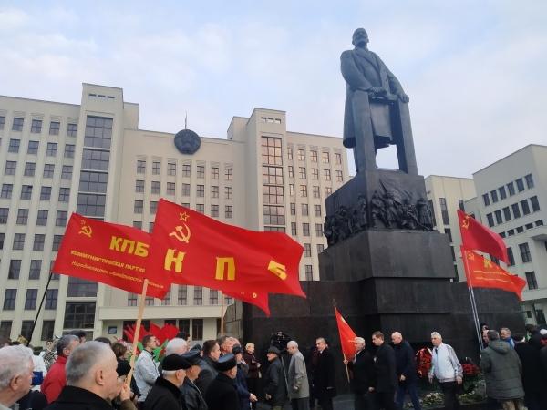 20191107_15-10-Злодеев и олигархов к стенке- годовщину социалистической революции отметили в Минске-pic1