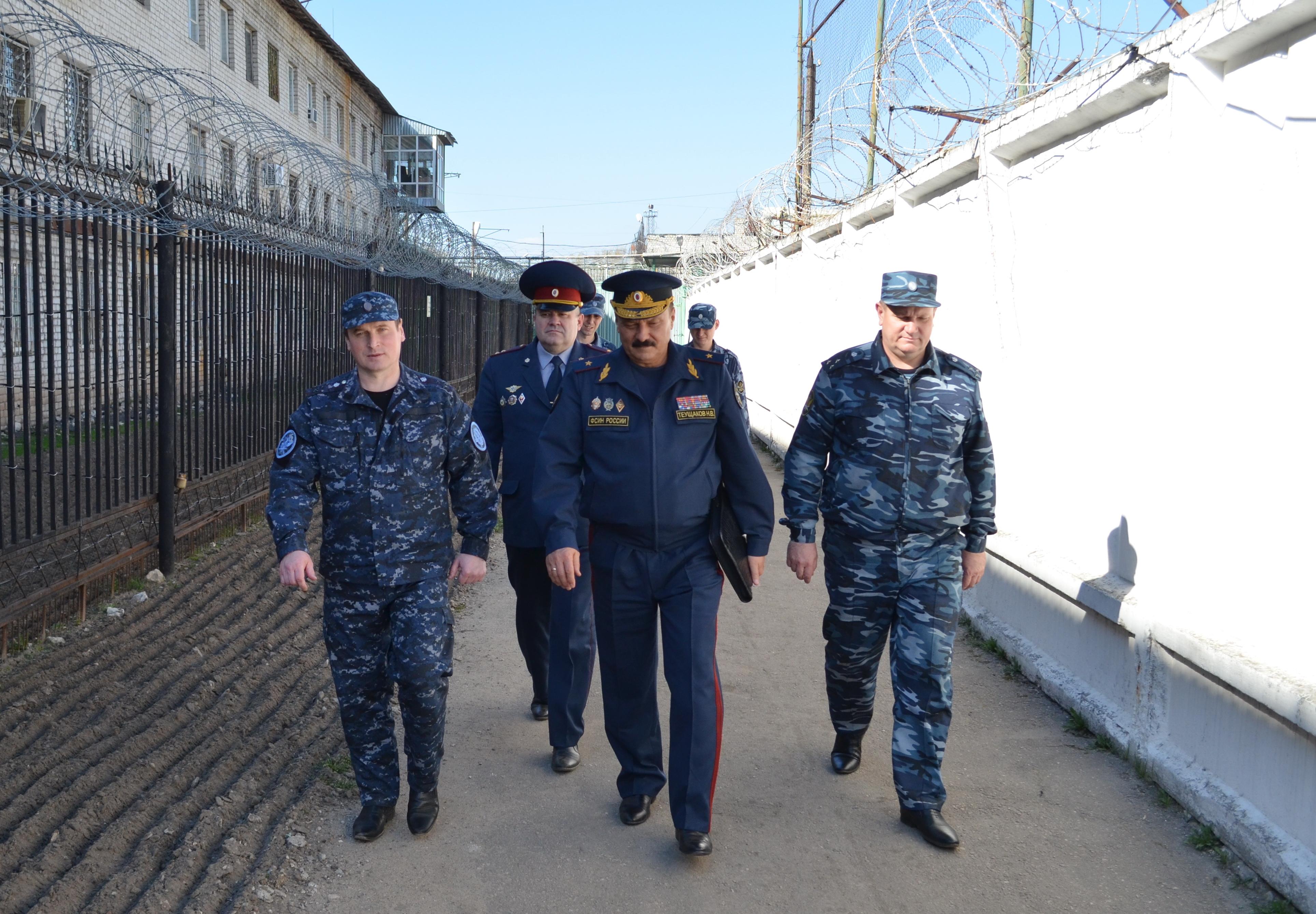 Начальник ГУФСИН России по Нижегородской области проверил деятельность ИК-5