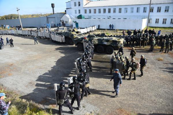 20160930-Пресечены массовые беспорядки в ИК-21 ГУФСИН России по Новосибирской области-pic1
