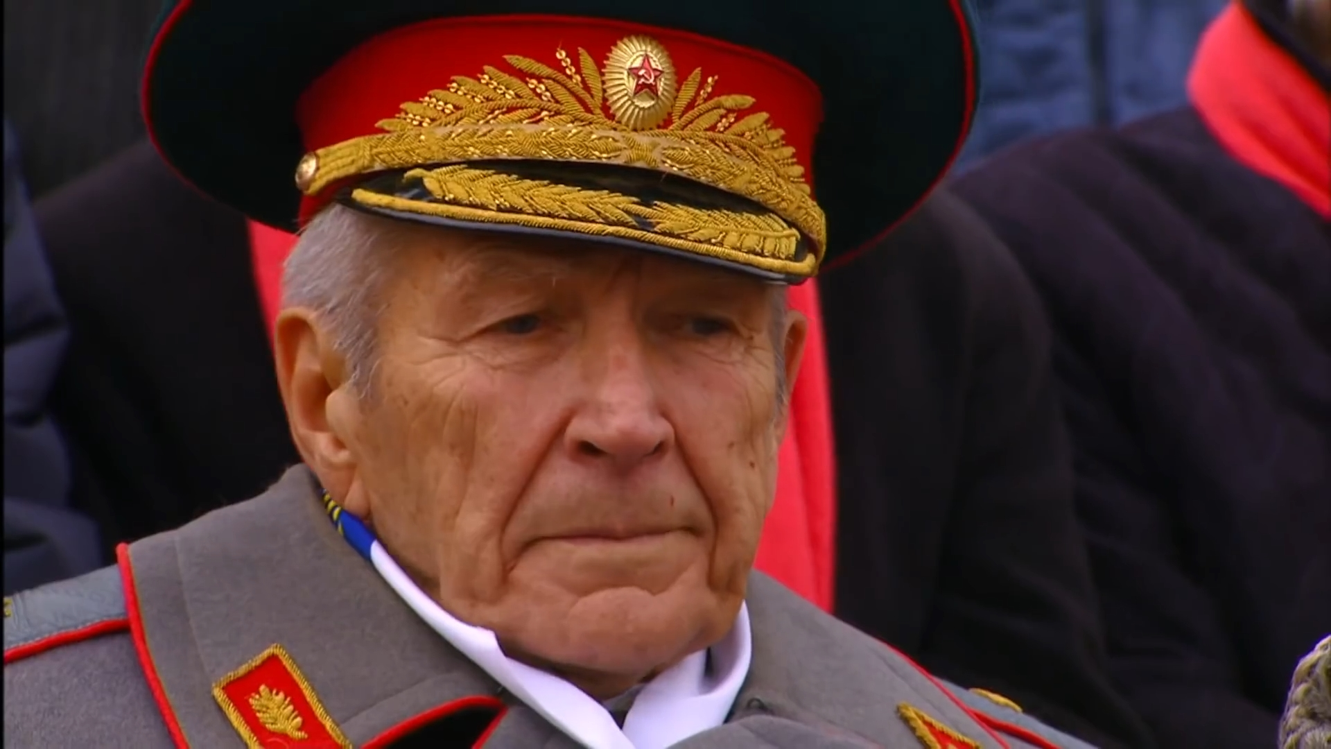 65-Марш в честь годовщины парада на Красной площади 1941-го года в Москве. Прямая трансляция
