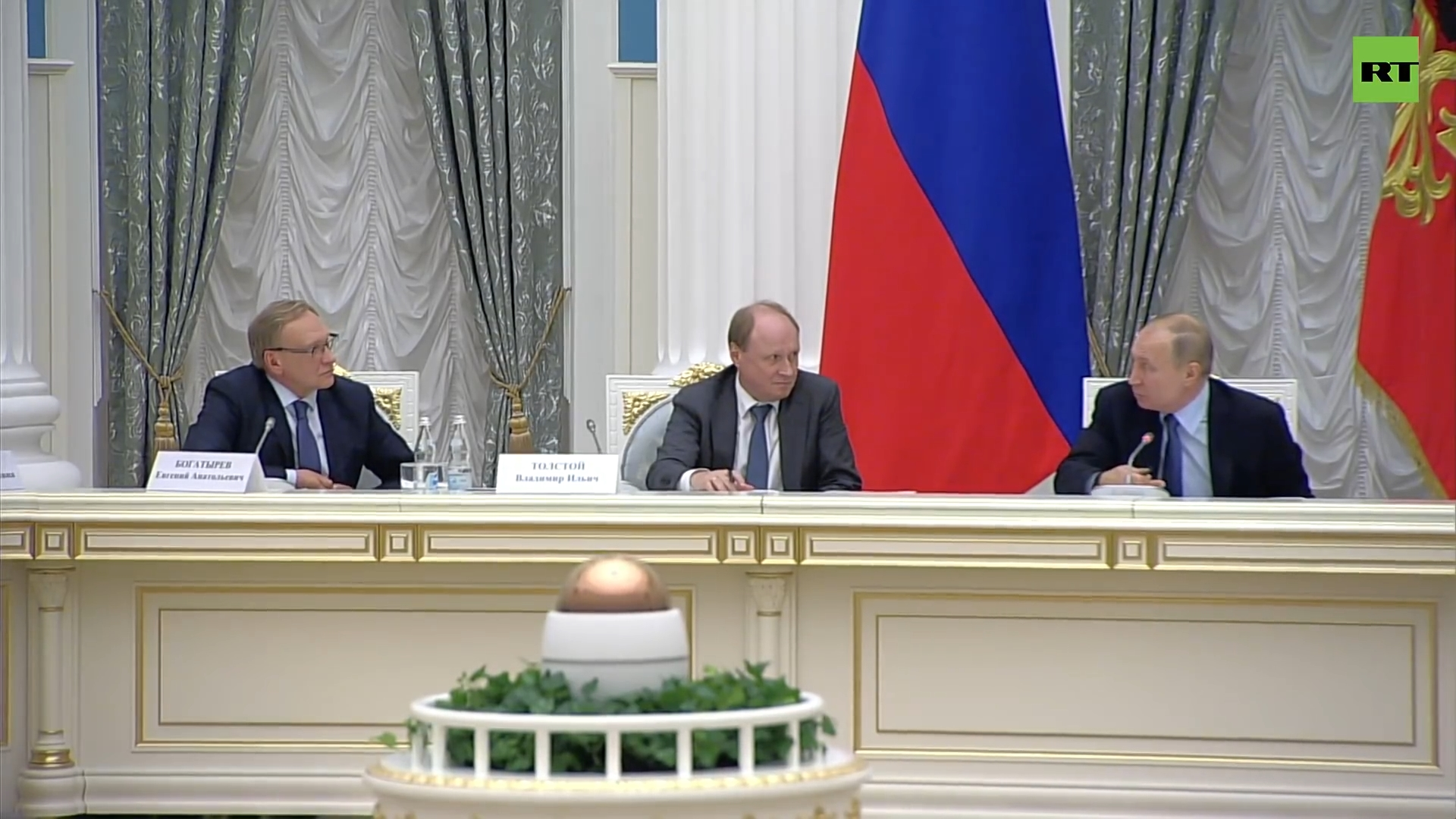 20191105-Путин на заседании совета по русскому языку в Кремле — LIVE-pic01