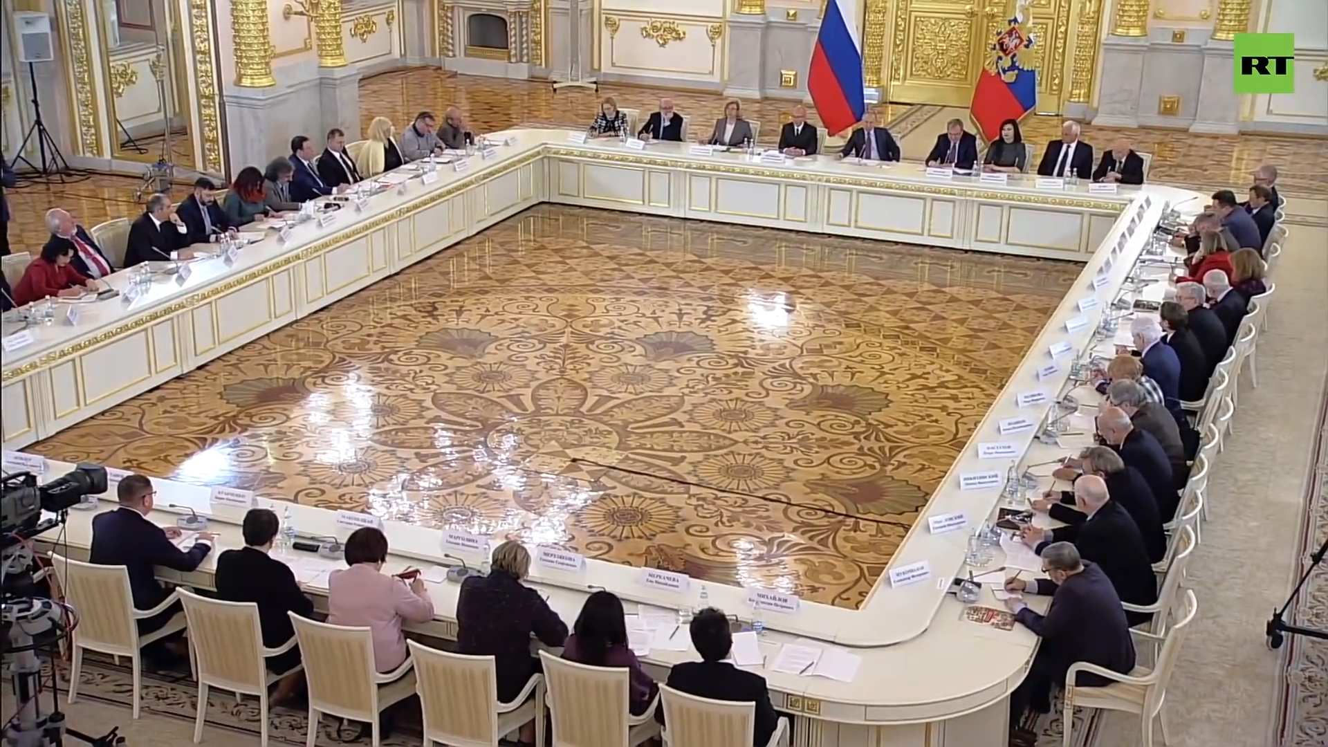 40-Путин проводит заседание СПЧ