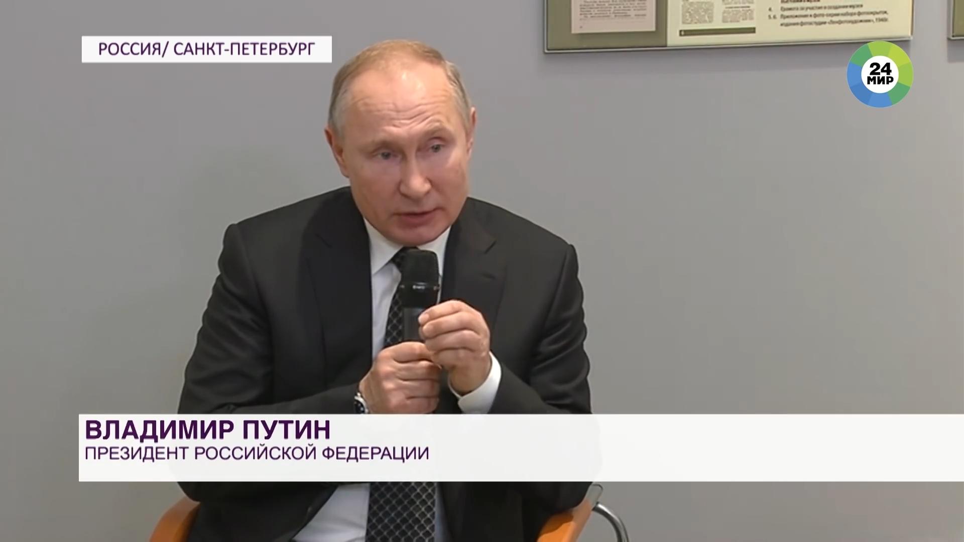 20200118-«Мы заткнем их поганый рот». Путин о тех, кто пытается переиначить историю-pic1