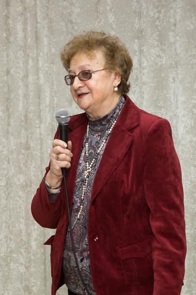 Своими впечатлениями делится Почётный гость З.И. Перегудова