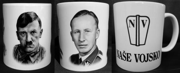 Hrnek Adolf Hitler edice 2019 -  Hrnek Reinhard Heydrich - Hrnek NASE VOJSKO