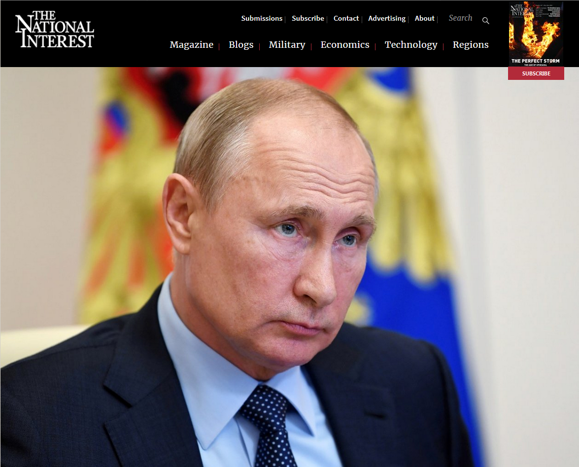 20200618-Vladimir Putin- The Real Lessons of the 75th Anniversary of World War II-scr1