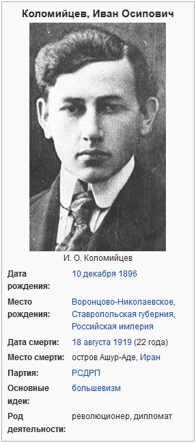 Коломийцев, Иван Осипович - Википедия