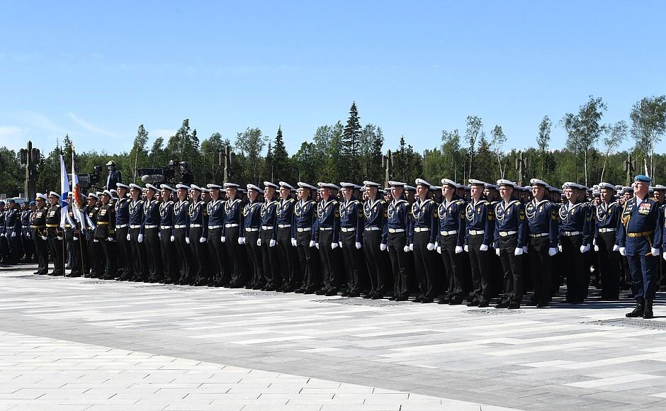 20200622-В День памяти и скорби Президент посетил главный храм Вооружённых Сил и музейный комплекс «Дорога памяти»-pic18