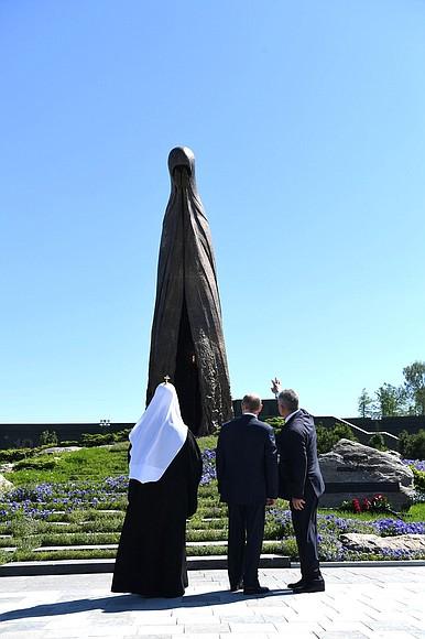 20200622-В День памяти и скорби Президент посетил главный храм Вооружённых Сил и музейный комплекс «Дорога памяти»-pic23