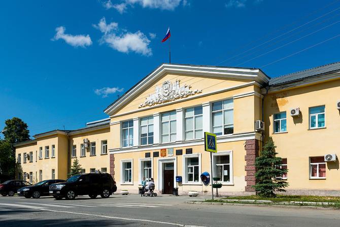 Здание администрации городского округа Верхняя Пышма