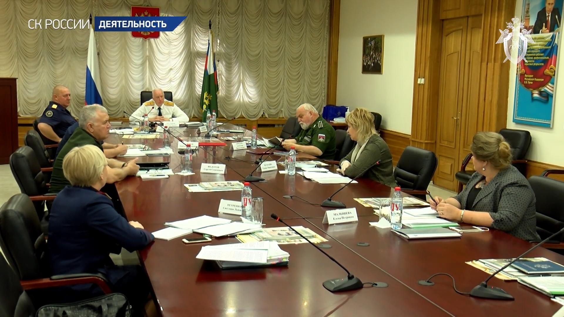 20200702-Состоялось первое заседание штаба по координации поисковой и архивной работы СК России-pic00