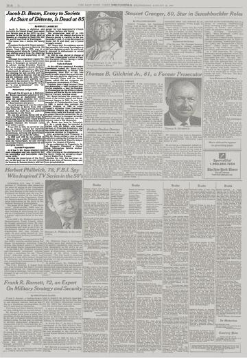 19930818-Jacob D. Beam, Envoy to Soviets At Start of Detente, Is Dead at 85-scr1