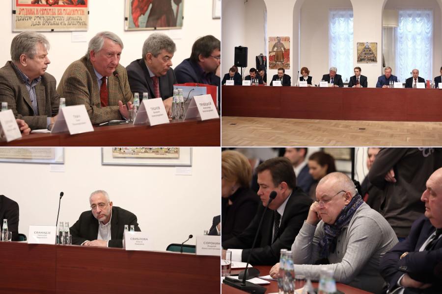 В Музее современной истории России состоялось первое заседание оргкомитета по подготовке к 100-летию революции 1917 г